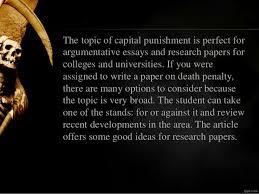 essays on capital punishmentdeath penalty research paper writing ideas death penalty research paper writing ideas created by essay
