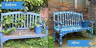 garden bench archives pillar box blue