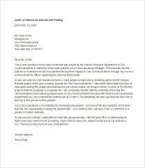 Job Letter Of Interest Letter Of Interest For Job 7 Free Word Pdf Documents