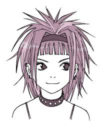 Hair Style Anime drawing anime hair for male and female characters impact books 6873 by wearticles.com