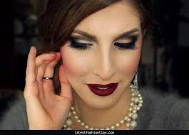 makeup inspired by gatzby 1920s inspired makeup tutorial