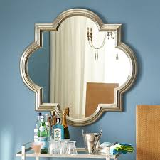 Silver Mirrors For Bedroom Silver Mughal Mirror