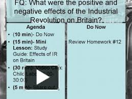 positive and negative effects of the industrial revolution essay while the industrial revolution had both positive and negati by philosophy on life essay consumer behavior