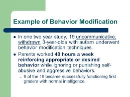 mental health treatment today ppt video online  example of behavior modification