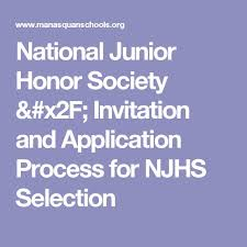 best nhs scholarship ideas scholarships for  national junior honor society invitation and application process for njhs selection