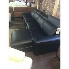 large black leather sectional sofa power recline cau d ax bloomingdale macys