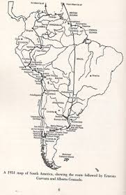 historicalpersuasivewriting unit papers the path taken by ernesto guevara and alberto granado in their famous motorcycle journey