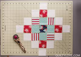 Scrappy Granny Squares Quilt Tutorial - Quilty Love & Step 2 Adamdwight.com