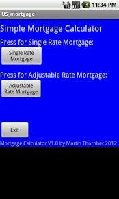 Usmortgage Calculator Us Mortgage Calculator 2 0 Android Apps Appagg Com