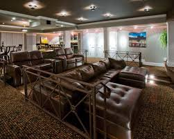 media room furniture seating. Traditional Multicolored Floor Home Theater Idea In New York Media Room Furniture Seating