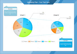 Multi Pie Chart Examples Marketing Plan