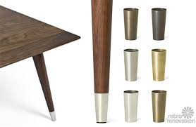 metal shoes for table chair legs