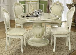 buy italian furniture online. camel leonardo italian dining set round extending with 4 chairs buy furniture online v