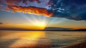 Iphone wallpaper 4k beach sunset. Sunset At The Beach Wallpaper Posted By Samantha Walker