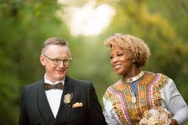 "for interracial couples growing acceptance some exceptions   to appreciate the differences in the way we walk through this world "" said marie nelson top of her relationship her husband gerry hanlon"