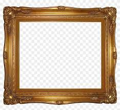 gold frame border square. Gold Frame Border Square - Transparent Png Gold Frame Border Square E