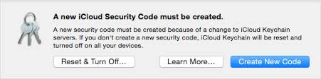 Icloud Security Code If Youre Asked To Create A New Icloud Keychain Security