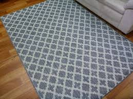 moroccan flat weave gest shaded grey rubber backed floor rugs runner door mats