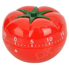 tomato style kitchen scale countdown reminder timer red green
