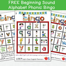The phonetic alphabet used for confirming spelling and words is quite different and far more complicated to the phonetic alphabet used to confirm pronunciation and word sounds , used by used by linguists, speech therapists, and language teachers, etc. Beginning Sound Lowercase Alphabet Phonic Bingo 12 Cards Call Shee Easy Esl Shop