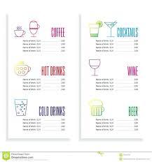 free word menu template to beer menu template free word c example program shootfrankco