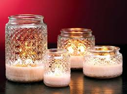 Decorating with handmade candles and candle holders-12 a great idea