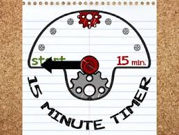 Timer For 15 Min Paper Timer 15 Minutes By Miss Colon Teachers Pay Teachers