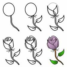 Small Picture How to Draw Flowers Drawing Tutorials Drawing How to Draw