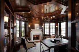 Design Ideas Elaborate Ceiling In Wood Gives This Traditional Home Custom Traditional Home Design Ideas