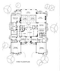 25 best history images on pinterest baroque architecture Cardinal Homes House Plans first floor plan of mediterranean traditional house plan 65886 cardinal homes nl house plans