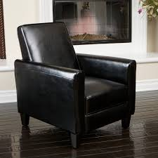 luxury leather recliner chairs. combining the style and luxury of a square-frame smooth leather upholstery with recliner chairs