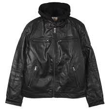 lucky brand lucky brand men s archibald faux leather moto jacket clothes k80816 steptorun com