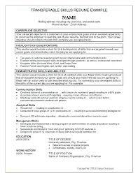 Customer Service Skills List Resume Blaisewashere Com