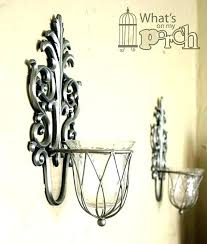 silver wall candle holders sconces glass wall sconces for candles silver wall sconce candle holder silver