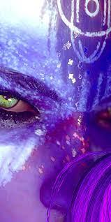 1440x2880 Fallout 4 Purple Girl ...