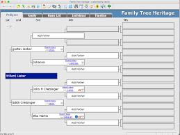 Family Tree Heritage Platinum Individual Software