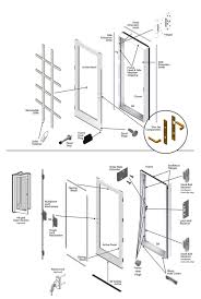 incredible peachtree sliding patio door great patio door parts peachtree prado sliding door hardware