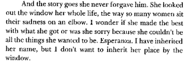 "quotes from ""the house on mango street "" by sandra cisneros  the house on mango street 2"