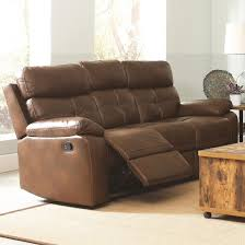 damiano faux leather reclining sofa faux leather recliner l13