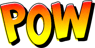 The examples below embed the svg code directly into the html code. Vector Graphics Of Vintage Comic Pow Sound Effect Free Svg