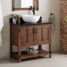 36 Morris Console Vessel Sink Vanity Bathroom