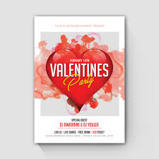 Valentines Flyers Valentine Flyer Vectors Photos And Psd Files Free Download
