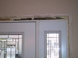 install front doorExterior Replacement Door  Part 8  The Installation Continues