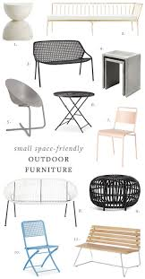 patio furniture for small spaces. Outdoor Deck Or Patio Furniture For Small Spaces. Dining And Lounge Round Up Spaces A