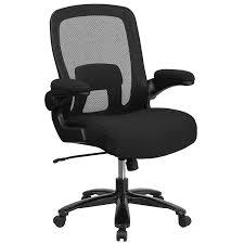 com flash furniture hercules series big tall 500 lb rated black mesh executive swivel chair with fabric seat and adjule lumbar kitchen