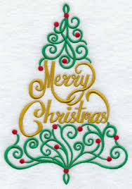 Pictures Of Merry Christmas Design Machine Embroidery Designs At Embroidery Library Embroidery Library
