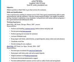 banking resumes bank teller resume sample resume bank teller objective for