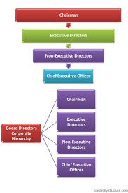 Board Directors Corporate Hierarchy Corporate Org Chart
