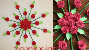 life s s paper flower wall hanging diy newspaper craft wall decoration ideas diy loop leading diy craft inspiration