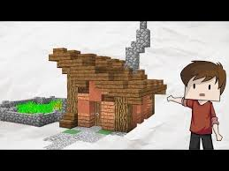 small and simple minecraft house tutorial play